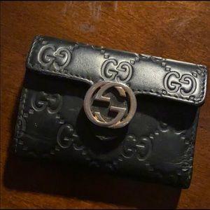 Gucci Card Case (one card slot) + Key Holder